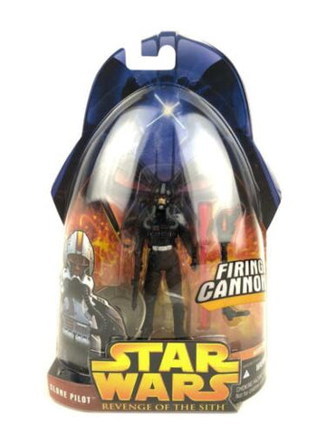 Star Wars Revenge of the Sith (ROTS) CLONE PILOT (Black Variant) #34 - 3.75""