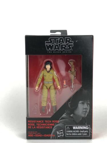 "Star Wars Black Series Resistance Tech Rose 3.75"" Walmart Exclusive TLJ Figure"