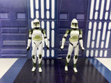 Star Wars Clone Wars (TCW) Anti-Hailfire Droid Squad Clone Troopers - Loose