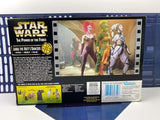 Star Wars Power of the Force POTF2 Jabba The Hutts Dancers Rystall Greata Lyn Me