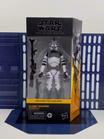 "Star Wars Black Series 6"" Clone Wars Clone Trooper (Kamino) #01 - In-Stock"