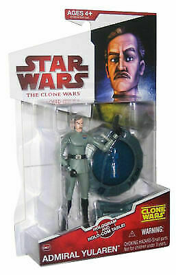 Star Wars Clone Wars (TCW) Admiral Yularen W/ Hologram Table CW07 Loose Complete
