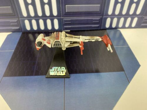 Star Wars Titanium Series 2008 Die Cast Vehicle B-Wing Fighter (Dagger Squadron)