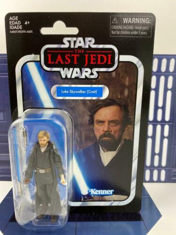Star Wars Vintage Collection (TVC) Jedi Luke Skywalker (Crait) - VC146 TLJ MOC
