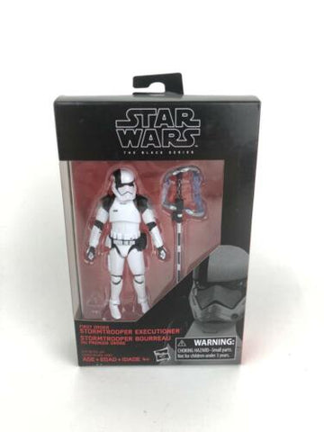 "Star Wars Black Series 3.75"" Stormtrooper Executioner Walmart Exclusive TLJ"