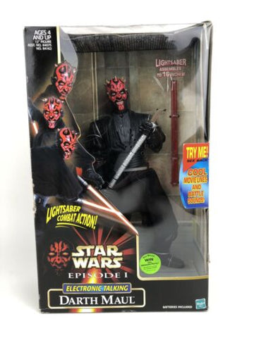 "Star Wars Episode 1 12"" (1/6 Scale) - Sith Apprentice Darth Maul (Electronic)"