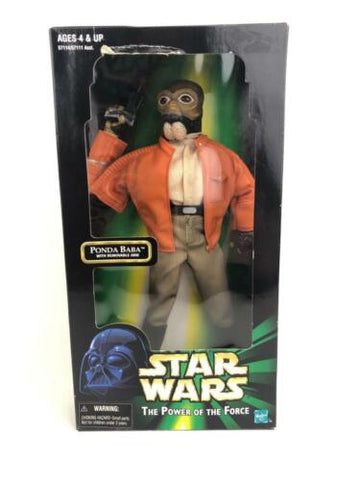"Star Wars Power of the Force 2 (POTF2) 12"" 1/6th scale Ponda Baba (Cantina)"