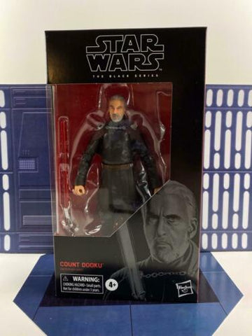 "Star Wars Black Series 6"" Count Dooku #107 (Attack of the Clones Sith) In-Stock - FREE SHIPPING"