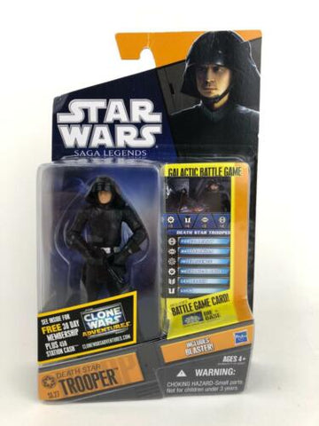 Star Wars Shadow of the Dark Side - Saga Legends - Death Star Trooper - SL27