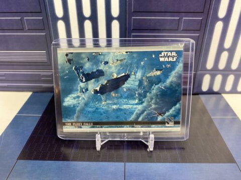 2020 Topps Star Wars Rise of Skywalker Series 2 The Fleet Falls #91 Silver 03/25