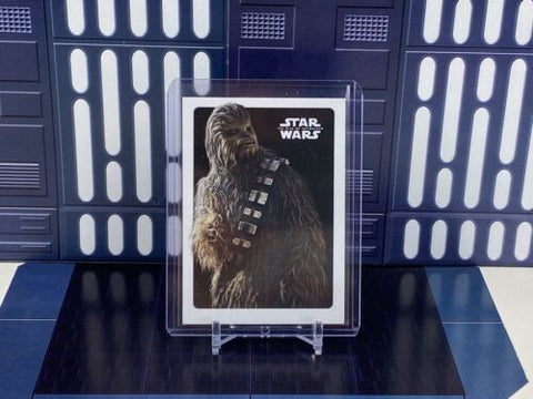 2020 Topps Star Wars Rise of Skywalker S2 Poster Card - Chewbacca - TP-5