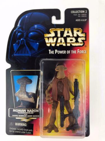 Star Wars Power of the Force 2 (POTF2) Hammerhead (Momaw Nadon) - Cantina Patron