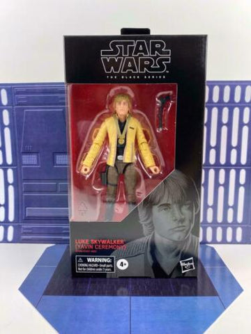 "Star Wars Black Series 6"" Luke Skywalker (Yavin Ceremony) #100 TYPO-FIX RELEASE"