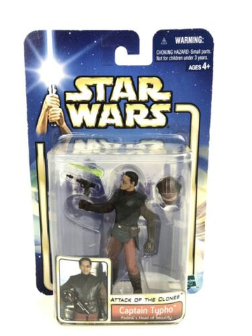 "Star Wars Saga Attack of the Clones (AOTC) 3.75"" Figure Captain Typho #09"