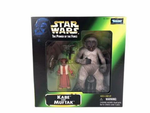 Star Wars Power of the Force 2 (POTF2) Exclusive KABE and MUFTAK Cantina Patrons