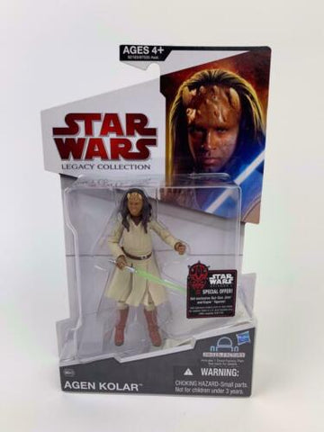 Star Wars Legacy Collection Jedi Master Agen Kolar - BD43 - YVH-1 Droid Factory