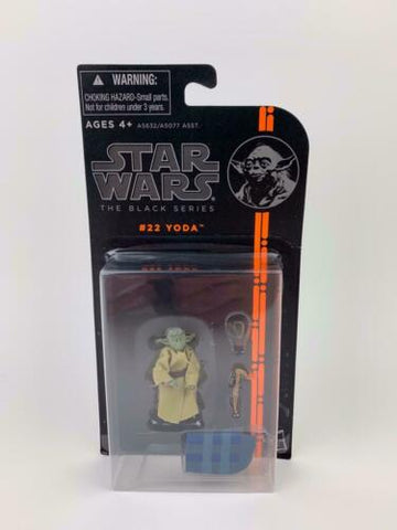 "Star Wars Black Series 3.75"" - Jedi Master Yoda - #22 (Empire Strikes Back ESB)"
