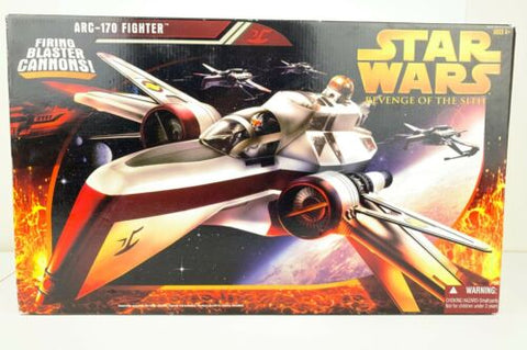 Star Wars Revenge of the Sith (ROTS) ARC-170 Fighter - New Unopened Hasbro 2005