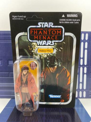 Star Wars Vintage Collection (TVC) Naboo Pilot (TPM) - VC72 - UNPUNCHED MOC