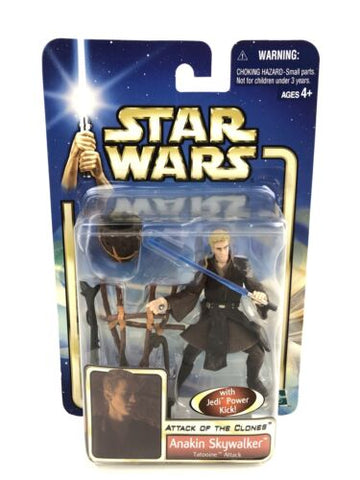 Star Wars Saga Attack of the Clones 3.75 Anakin Skywalker (Tatooine Attack) #43