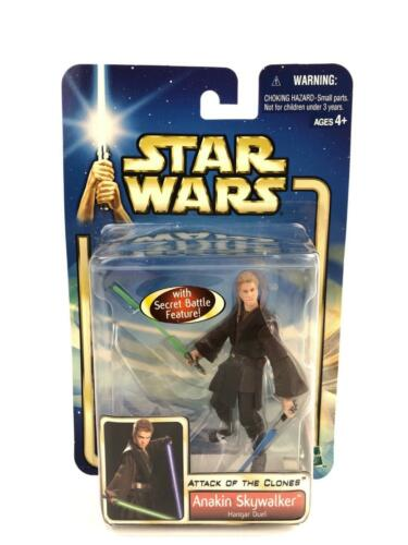 Star Wars Attack of the Clones Anakin Skywalker Figure 22 Hasbro 2002