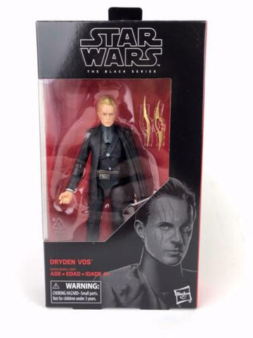 "Star Wars Black Series 6"" Dryden Vos #79 Wave 31 In-Stock In-Hand Hasbro 2019"