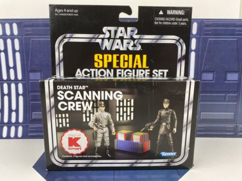 Star Wars Vintage Collection (TVC) Death Star Scanning Crew - Kmart Exclusive