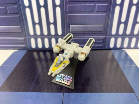 Star Wars Titanium Series 2009 Die Cast Davish Krail's Gold 5 Rebel Y-Wing (ANH)