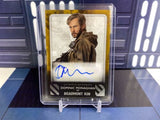 2020 Star Wars Rise of Skywalker Dominic Monaghan Beaumont Kin 05/10 Gold Auto