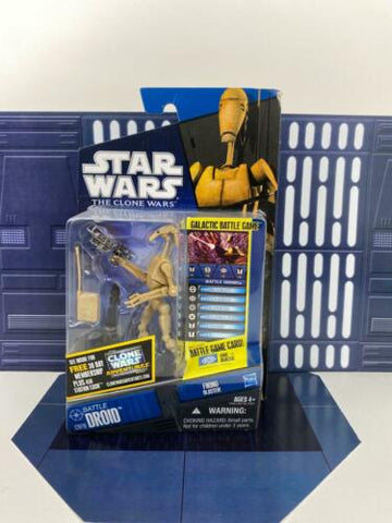 Star Wars Shadows of the Dark Side - Clone Wars (TCW) - Battle Droid - CW19