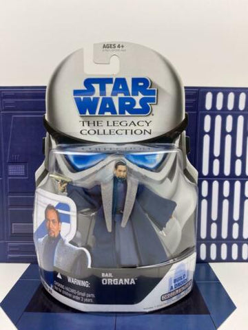 Star Wars Legacy Collection (TLC) Senator Bail Organa - BD 26 - Hasbro 2008