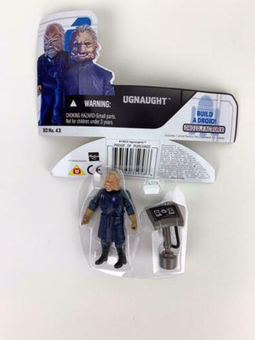Star Wars Legacy Collection Ugnaught BD 43 (Blue Outfit) Loose - Complete