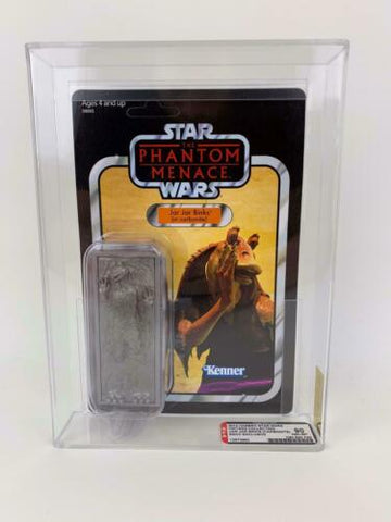 Star Wars Vintage Collection AFA GRADED 90 Jar Jar in Carbonite 2012 SDCC Excl.