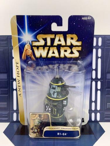 Star Wars SAGA - A New Hope - R1-G4 (Astromech Droid - Tatooine) #06 Hasbro 2004
