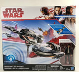 Star Wars The Last Jedi (TLJ) Force Link Resistence Ski Speeder W/Poe Dameron