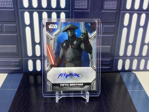 2020 Topps Star Wars Holocron Philip Anthony-Rodriguez Fifth Brother Auto /400
