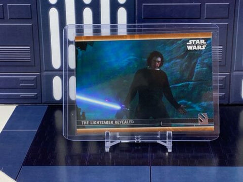 Topps Star Wars Rise of Skywalker S2 - Lightsaber Revealed #78 Bronze /99