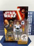 "Star Wars Rebels (Force Awakens Card) 3.75"" Figure MOC - Old Clone Captain Rex"