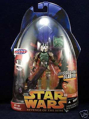 Star Wars Revenge of the Sith (ROTS) AT-RT Driver #54 New - Loose - Complete