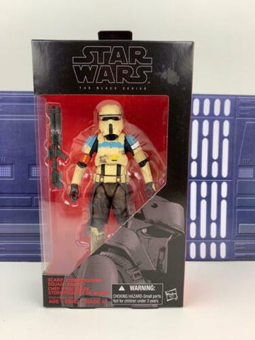 "Star Wars Black Series 6"" Scarif Stormtrooper Squad Leader #28 (Shoretrooper)"