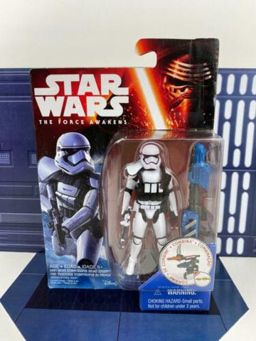 "Star Wars The Force Awakens (TFA) 3.75"" First Order Stormtrooper Squad Leader"