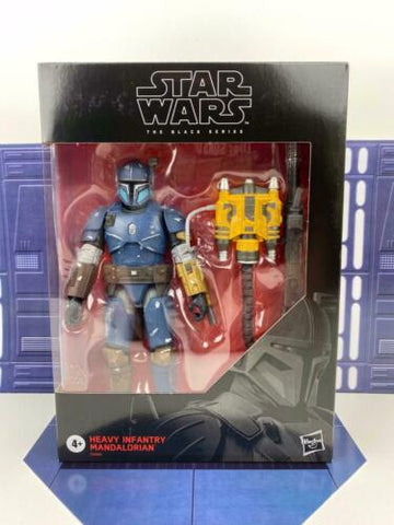 Star Wars Black Series Deluxe 6 Heavy Infantry Mandalorian - Exclusive In Stock