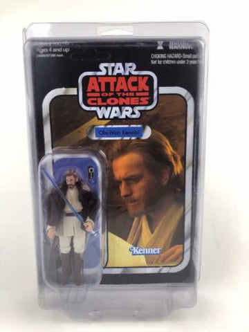 Star Wars Vintage Collection Obi-Wan Kenobi Attack of the Clones VC31 Unpunched