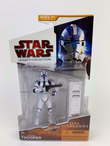 Star Wars Legacy Collection Saga Legends 501st Legion Clone Trooper (ROTS) SL08