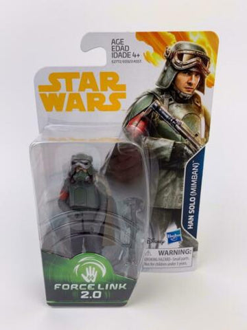 Star Wars Force Link 2.0 Han Solo (Mimban Stormtrooper) - 3.75 Figure - New