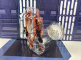 Star Wars 30th Saga Legends Battle Droids (AOTC Shot/Sliced) Loose Complete