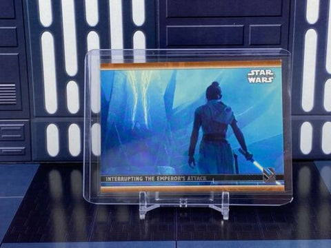 Topps Star Wars Rise of Skywalker S2 - Interrupting Emperor's Attack #89 /99