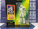 Star Wars Power of the Force (POTF2) 3D Play Scene Spacetrooper -EU Stormtrooper