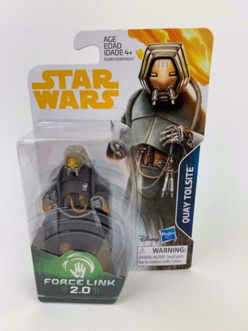 Star Wars Force Link 2.0 Quay Tolsite - (SOLO) - 3.75 Figure - Wave 4 - New