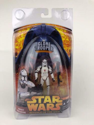 Star Wars Revenge of the Sith (ROTS) Clone Trooper (91st Corps) Target Exclusive